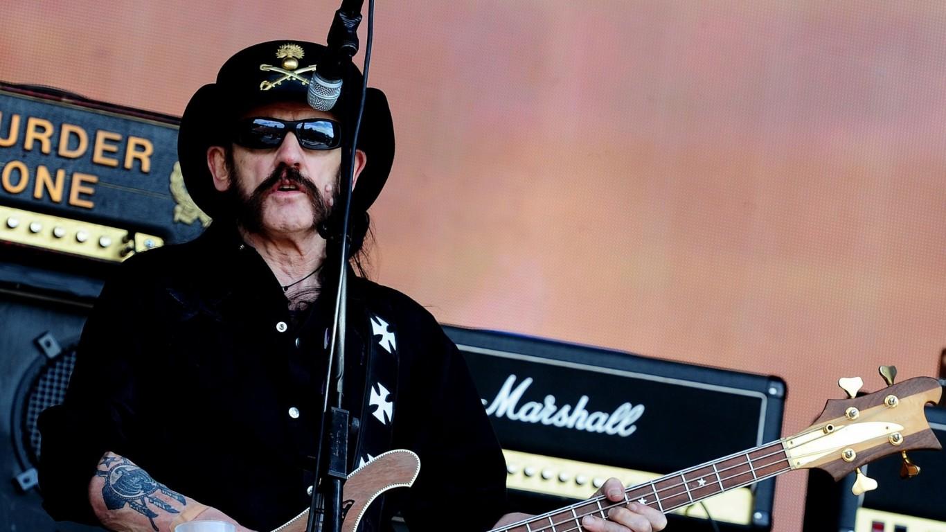 RIP: Lemmy Kilmister, frontman of Motörhead