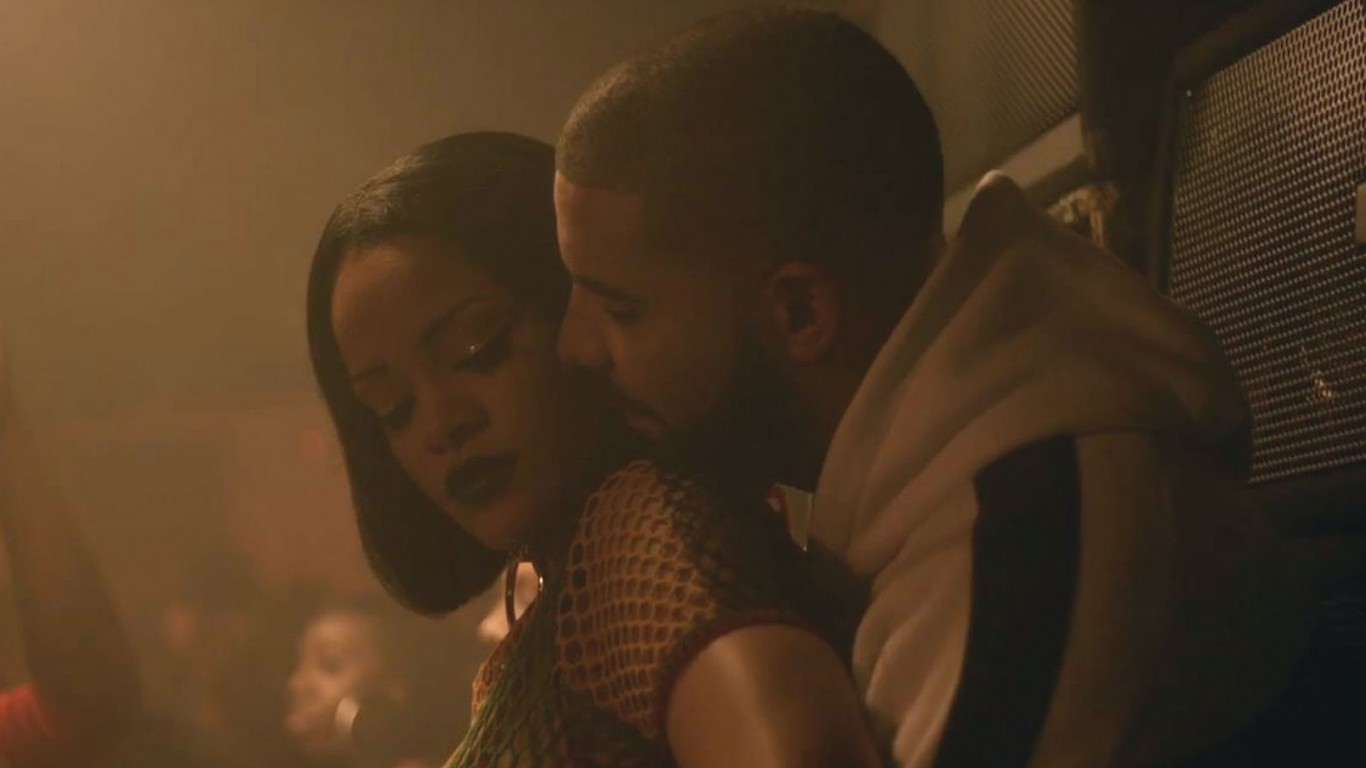 Rihanna Twerks on Drake in