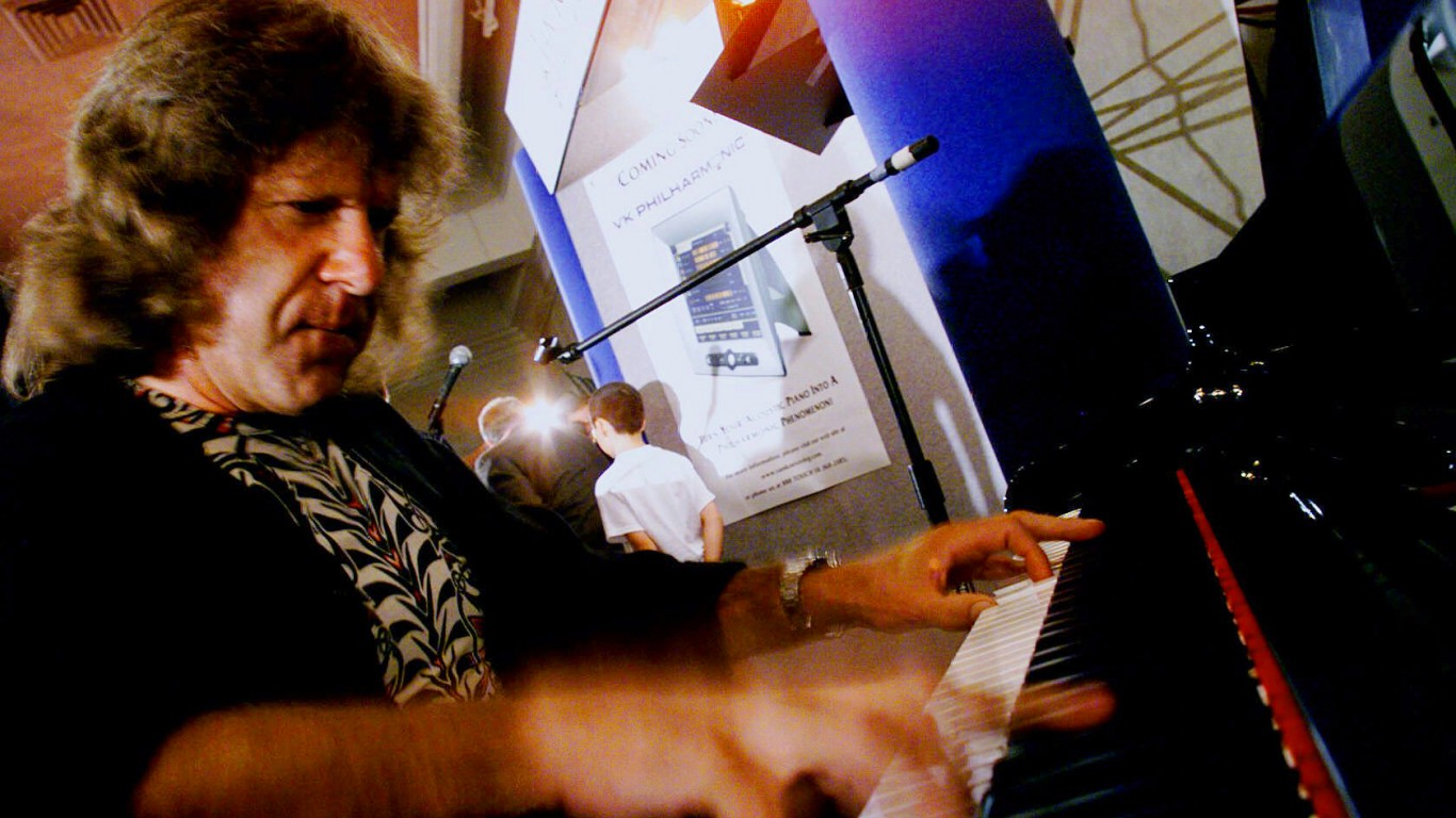 Keith Emerson of Emerson, Lake and Palmer dies at 71